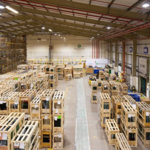 Warehouse LED Lighting Controls