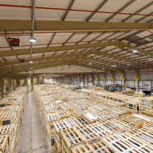 Distribution centre LED lighting