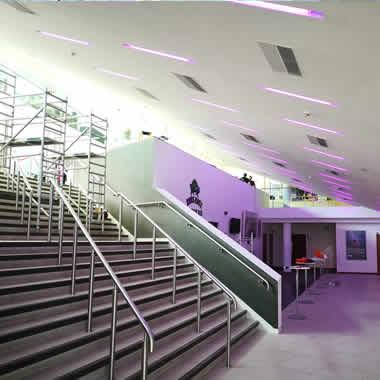 LED lighting for Civic Centres