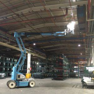 Logistics hub LED Lighting
