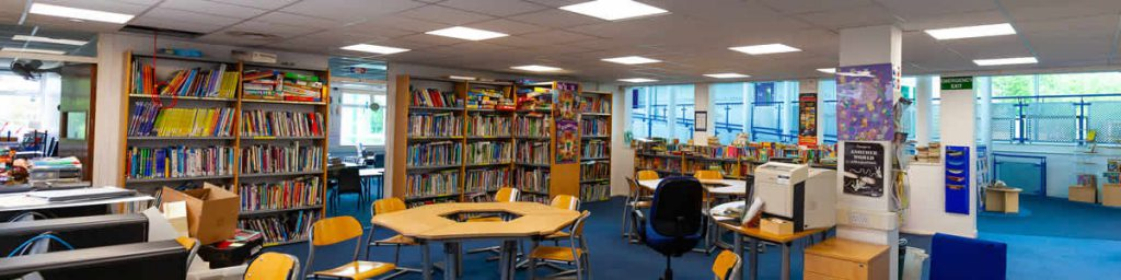 School Library LED Lighting