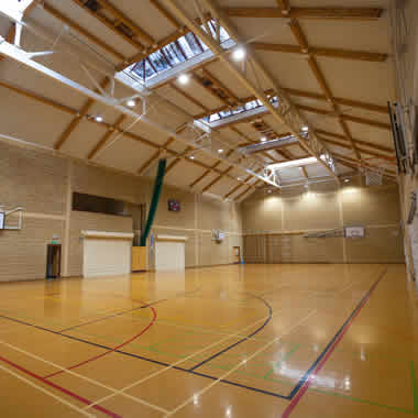 Sports Hall LED Lighting Project