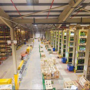 Warehouse LED Lighting Upgrade