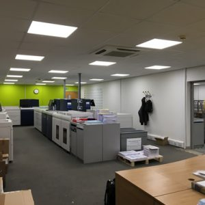 Commercial offices LED lighting