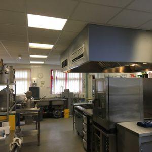 School Kitchen LED Lighting