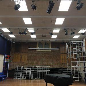 Multi-use School Hall LED Lighting