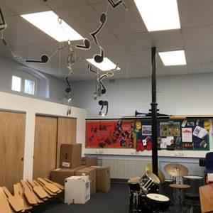 Music Room LED Lighting