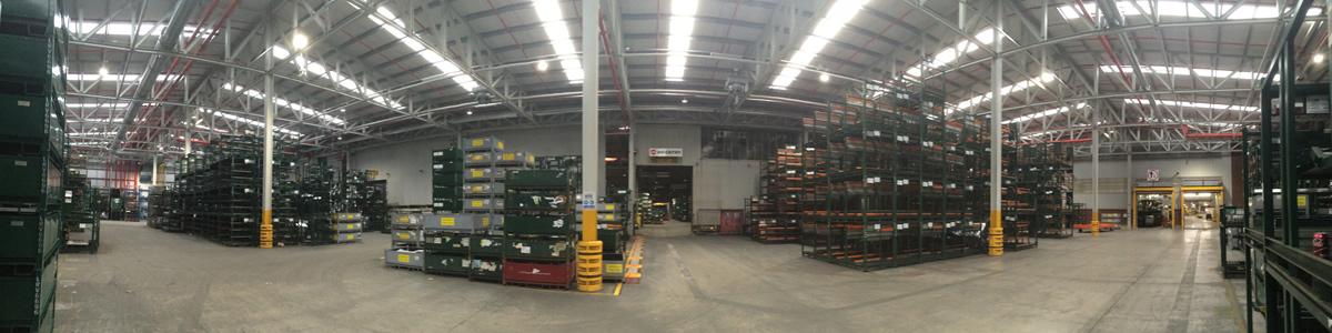 Logistics Warehouse LED Lighting Upgrade